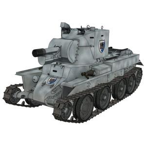 1/72 ガールズアンドパンツァー BT-42突撃砲 継続高校
