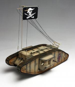 1/35 ガールズアンドパンツァー Mk.Ⅳ戦車 サメさんチーム