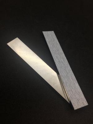 ステンレス製紙やすり当て板(小)